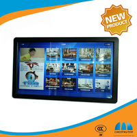 42 inch shopping mall wall mounted lcd advertising media player with wifi network touch screen