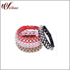 Punk Style Spiked Pet Dog Collar Round Bullet Nail Rivet Studded Collar Neck Strap Pitbull Collar PU Leather Pet roducts