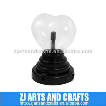 Heart shape USB plasma ball
