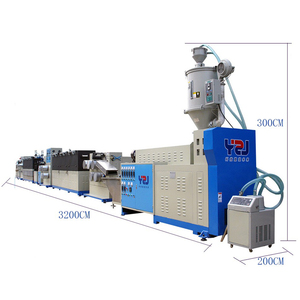 Union high output Plastic strap band production line pp plastic strip making machine