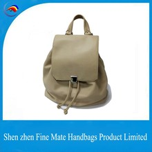 Hot Selling New designer promotional cheap price school leather laptop backpack