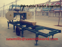 Portable Sawmills/Horizontal Portable Band Sawmills Wth Diesel And Electric Engine