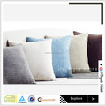 China supplier 100% natural linen cushion cover