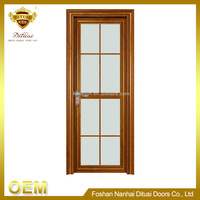 All types of aluminum kitchen entry doors PK-6013