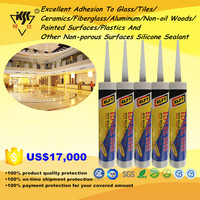 Glass,Tiles,Ceramics,Fiberglass,Aluminum,Non-oil Woods,Plastics,Painted And Non-porous Surfaces Silicone Sealant
