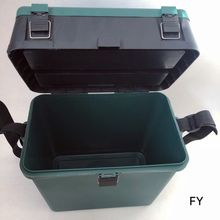 PP Plastic Big Capacity Toolbox Seat box Hold-all Fishing Tackle Lure Accessories Chest