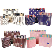 wholesale custom packaging decorative handmade paper gift bags