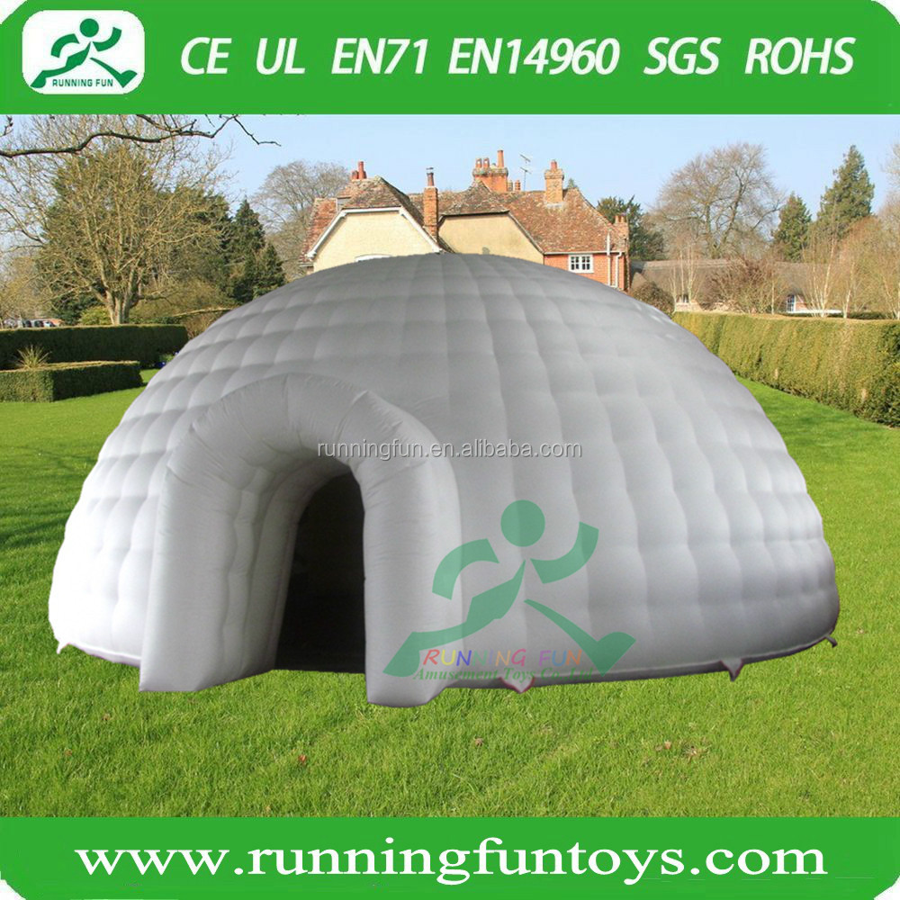 Inflatable bubble lodge camping tent for sale