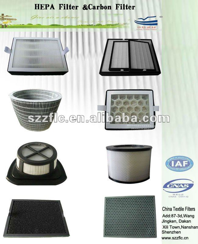 Air ventilation system High efficiency particulate clean room hepa air filter