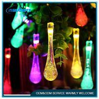 solar power copper string light ,HL-966, christmas angel string lights