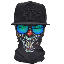 Printed Wholesale bandana Multifunctional Face Mask tubular outdoor bandama skull tubular face shield