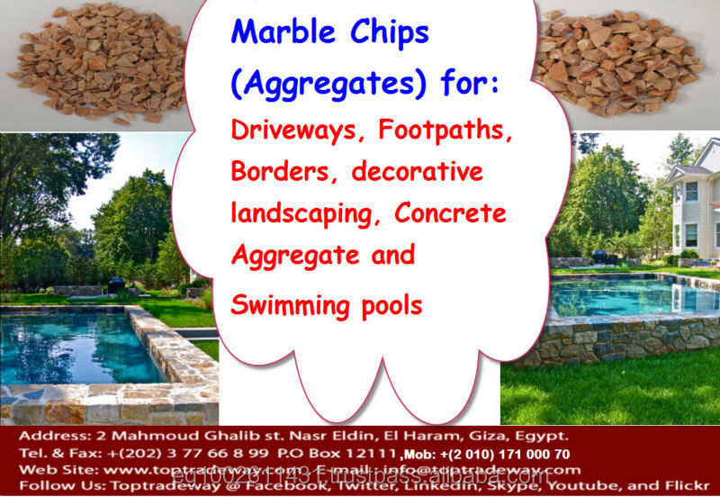 Decorative garden stones / Chips- all Sizes