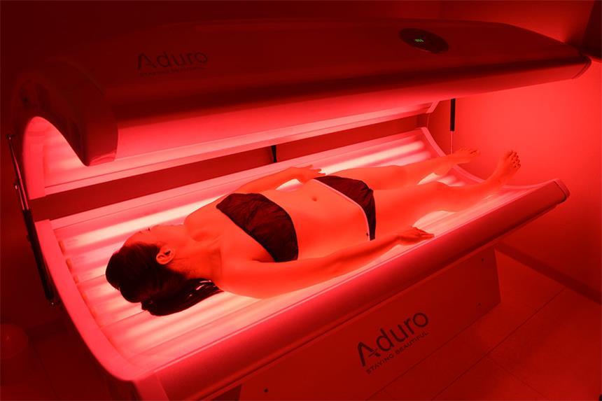 PDT bed red blue LED light therapy Spa Capsule