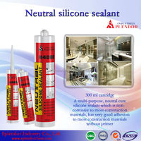 Neutral Silicone Sealant/silicone sealant for kingspan panels/ mirror fixing silicone sealant