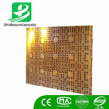 Conference room ,studio QRD rubber solid wood sound diffuser for wall and ceiling