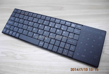 DIHAO Newest Ultra Slim Bluetooth keyboard with Touch pad