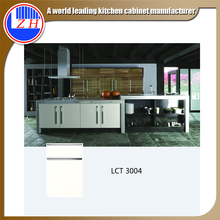 Modern new model PETG laminate LCT modular kitchen cabinet with simple designs (LCT3004)