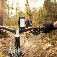 bicycle phone holder mount with silicone band cell phone holder with bike gps