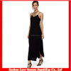 HC4077 High Quality Cheap Price The hot sale Ankle length black sexy dress spaghrtti straps asymmetrical cocktail dress 2013