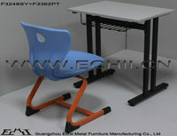 Student desk and chair/Kids school table and chair set/Classroom furniture