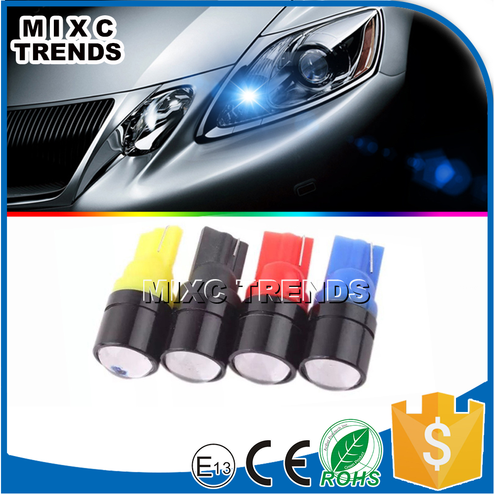 Hot Sale 12V Auto Led Bulb W5W T10 With Lens In Black LED Reading Lights Car Led Light