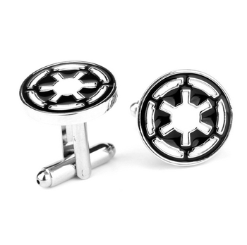French Style Stainless Steel Jewelry Custom Button Cufflink for Men