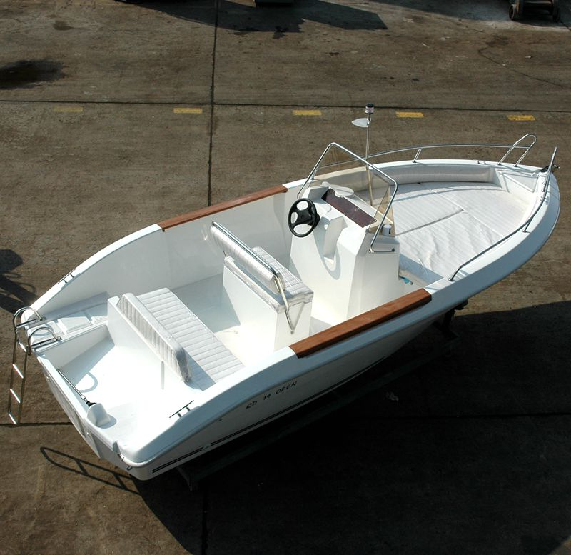 Waterwish QD 19 OPEN Fishing Boat Made in China