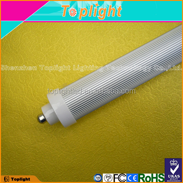 CE RoHS high lumen R17D 8ft t8 led tube light replacement F94/T8/D/HO
