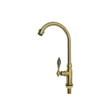 2017 new style italian crown gold promise kitchen faucet