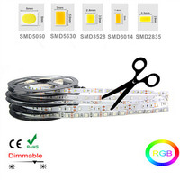 order 100m bicolor 220v input dimmable led strip lights