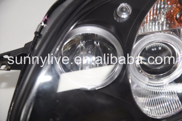 R170 SLK320 SLK230 SLK200 LED Head Lamp For Mercedes-Benz 1996-02 SN