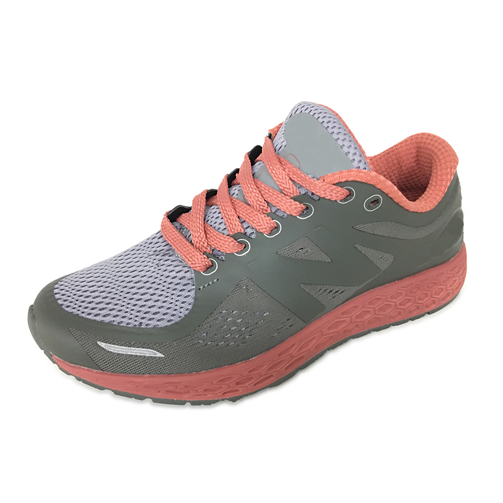Jacquard TPU No Seaming Lady Running Sport Shoes