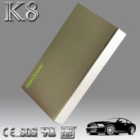 2015 auto lithium mini slim jump start car battery pack cell phone and notebook adapter