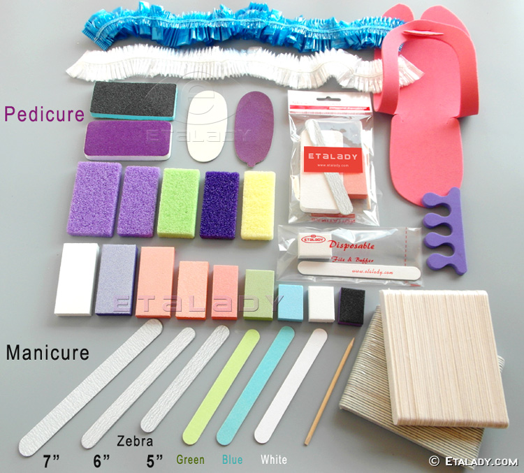 Disposable Pedicure set Disposable Manicure Pedicure Kit
