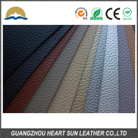 wholesale pu leather fabric for shoes/bag material