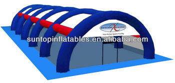 customized inflatable paintball arena with high quality