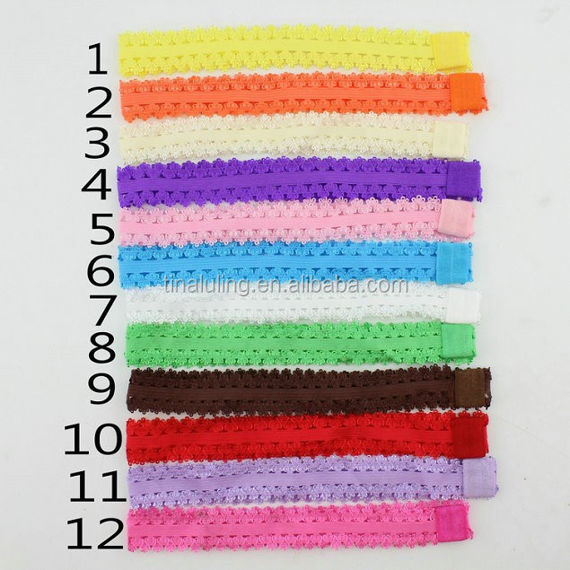 2015 new fashion 12 colors korean headband with holes makeup headband