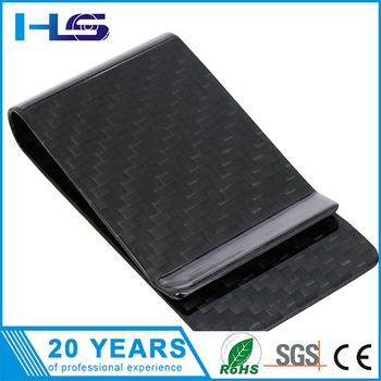 High quality flat carbon steel spring, carbon money clip spring on sale