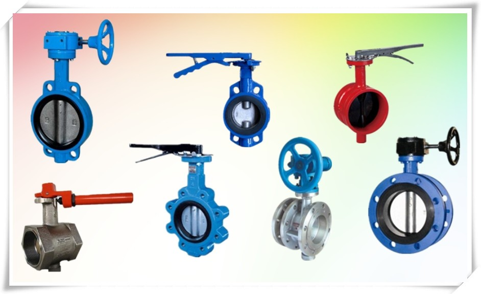 soft seal seat ring motorized wafer type butterfly valve