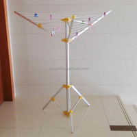 3- arm camping and travelling umbrella aluminium rotary clothes dryer