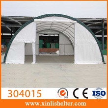 Large equipment storage building truck big dome tent