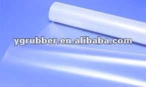 Transparent Silicone Membrane Sheet with Logo Available
