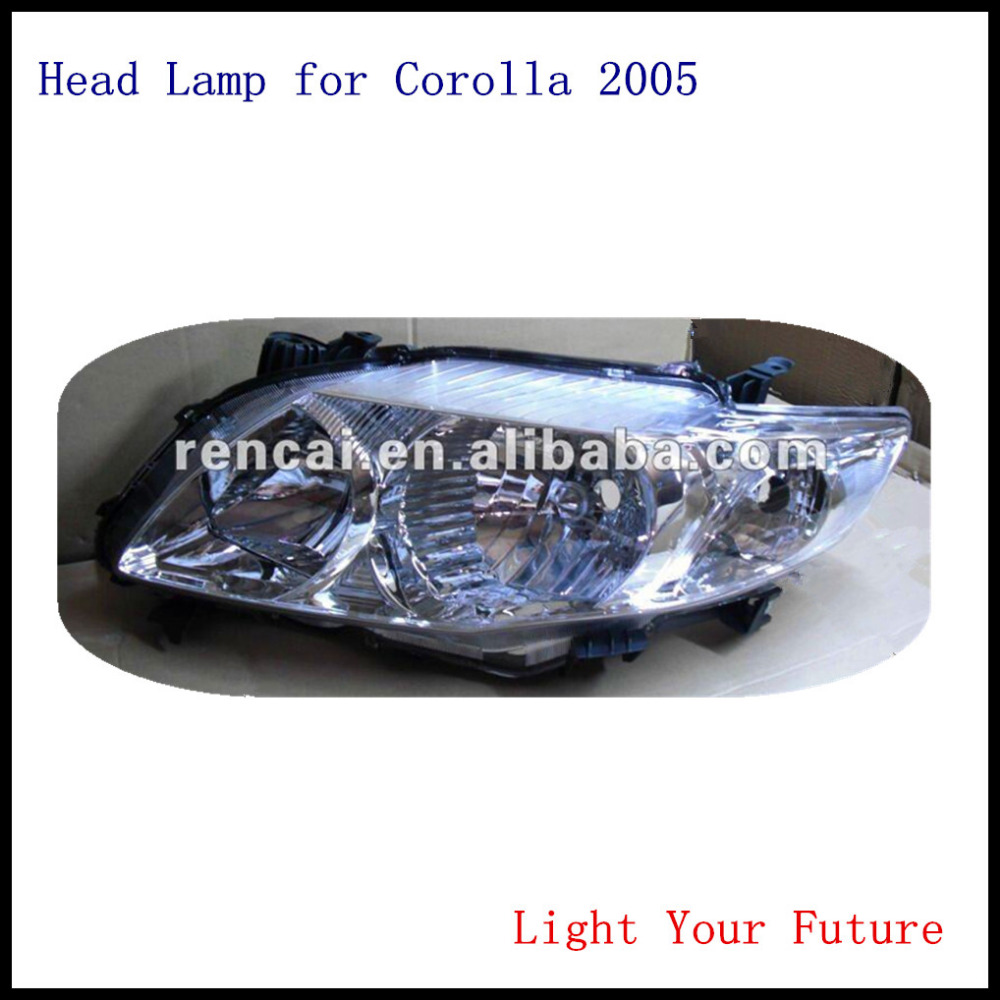 Auto Spare Parts Headlight for Toyota Corolla 2005