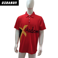 High quality custom multicolored dri fit bowling polo shirts wholesale