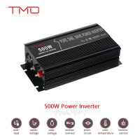 new 500W single phase DC 12V to AC 220v car power inverter with USB plug