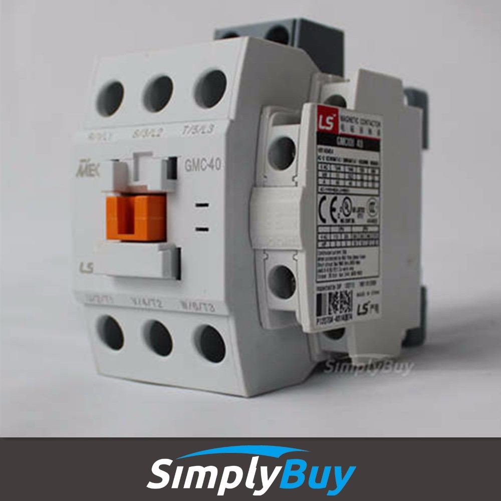 electrical contactor MEC GMD-40 GMD40 40A/1a1b tc contactor MEC Meta-MEC Series Contactors