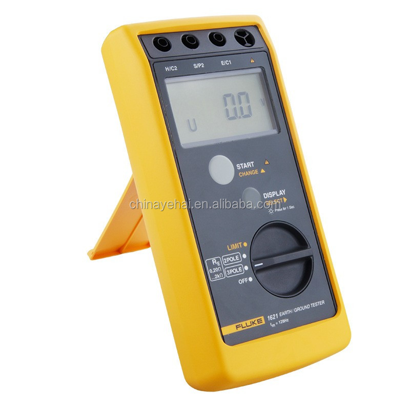Resistance Meters Handheld Original Fluke-1621 Digital Earth Resistance Tester