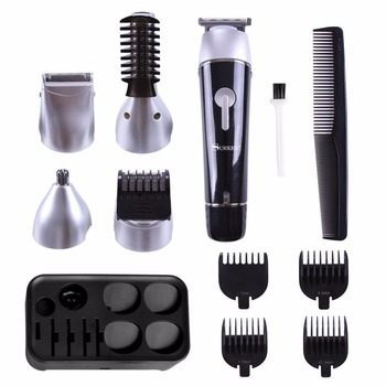 Wholesale Cheap Professional hair clipper trimmer mens beard automatic travel shaving set stainless steel shaving kit for men