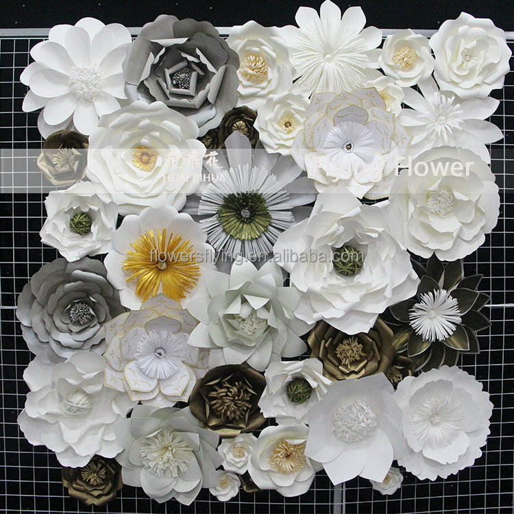 Shanghai factory High quality new handmade flower for wedding decor