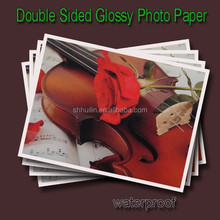 260g cast coated double sided high glossy photo paper double sided wrapping paper